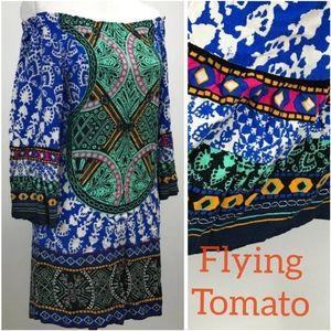 Flying 🍅 Tomato 100% rayon Dress S